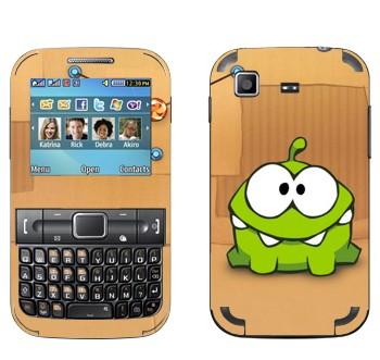 Виниловая наклейка «Перережь веревку - On Nom» на телефон Samsung C3222 Duos