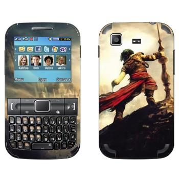 Виниловая наклейка «Принц Персии» на телефон Samsung C3222 Duos