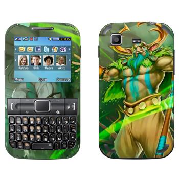 Виниловая наклейка «Пророк природы - Dota 2» на телефон Samsung C3222 Duos