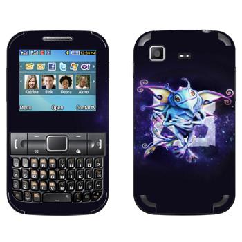 Виниловая наклейка «Puck — детеныш волшебного дракона» на телефон Samsung C3222 Duos