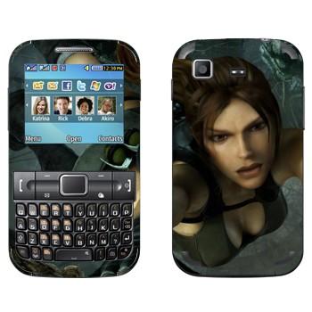 Виниловая наклейка «Расхитительница гробниц» на телефон Samsung C3222 Duos