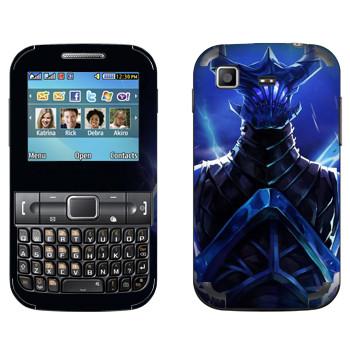 Виниловая наклейка «Razor - дитя молнии» на телефон Samsung C3222 Duos