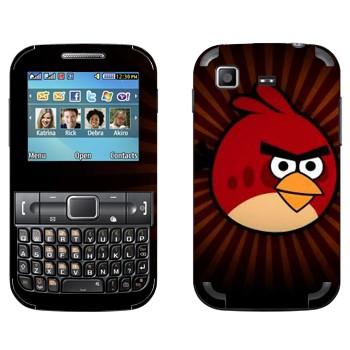 Виниловая наклейка «Рэд - Angry Birds» на телефон Samsung C3222 Duos