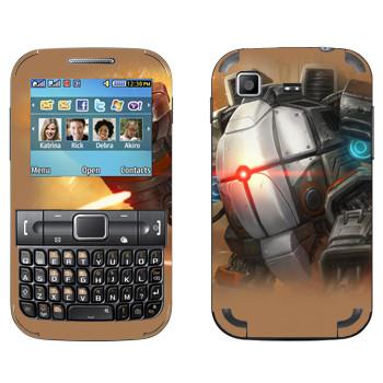 Виниловая наклейка «Shards of war Бастион» на телефон Samsung C3222 Duos