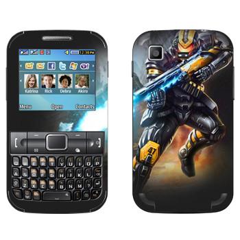 Виниловая наклейка «Shards of war Блиц» на телефон Samsung C3222 Duos