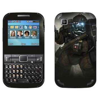 Виниловая наклейка «Shards of war Быкоход» на телефон Samsung C3222 Duos