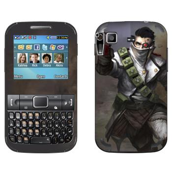 Виниловая наклейка «Shards of war Flatline» на телефон Samsung C3222 Duos