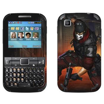 Виниловая наклейка «Shards of war Кобра» на телефон Samsung C3222 Duos