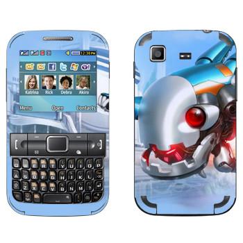 Виниловая наклейка «Shards of war Патчи» на телефон Samsung C3222 Duos