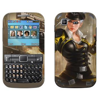 Виниловая наклейка «Shards of war Валькирия» на телефон Samsung C3222 Duos