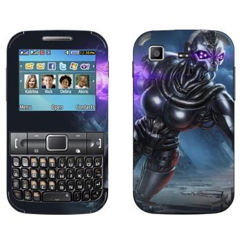 Виниловая наклейка «Shards of war Вокс» на телефон Samsung C3222 Duos