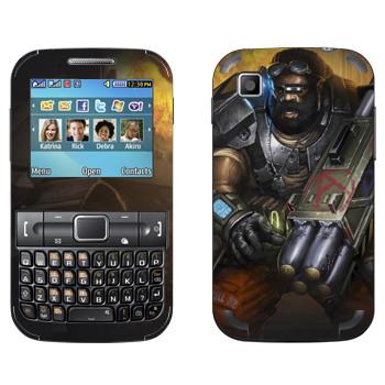 Виниловая наклейка «Shards of war Warhead» на телефон Samsung C3222 Duos