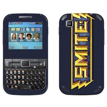 Виниловая наклейка «SMITE игра» на телефон Samsung C3222 Duos