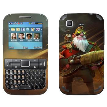 Виниловая наклейка «Снайпер - Dota 2» на телефон Samsung C3222 Duos