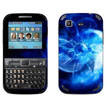Виниловая наклейка «Star conflict Abstraction» на телефон Samsung C3222 Duos