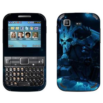 Виниловая наклейка «Star conflict Death» на телефон Samsung C3222 Duos