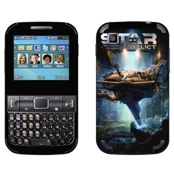 Виниловая наклейка «Star Conflict Игра» на телефон Samsung C3222 Duos