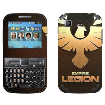 Виниловая наклейка «Star conflict Legion» на телефон Samsung C3222 Duos