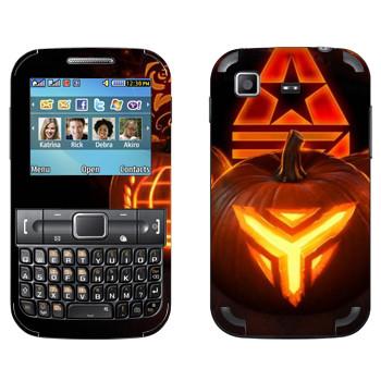 Виниловая наклейка «Star conflict Pumpkin» на телефон Samsung C3222 Duos