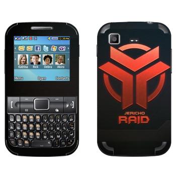 Виниловая наклейка «Star conflict Raid» на телефон Samsung C3222 Duos