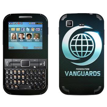 Виниловая наклейка «Star conflict Vanguards» на телефон Samsung C3222 Duos