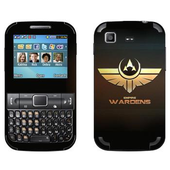 Виниловая наклейка «Star conflict Wardens» на телефон Samsung C3222 Duos