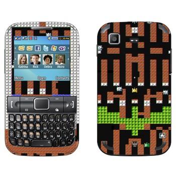 Виниловая наклейка «Танки 8-бит» на телефон Samsung C3222 Duos