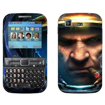 Виниловая наклейка «Тайкус Финдли - Star Craft 2» на телефон Samsung C3222 Duos