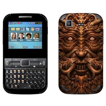 Виниловая наклейка «Темные Души» на телефон Samsung C3222 Duos