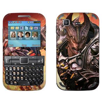 Виниловая наклейка «Tera Aman» на телефон Samsung C3222 Duos
