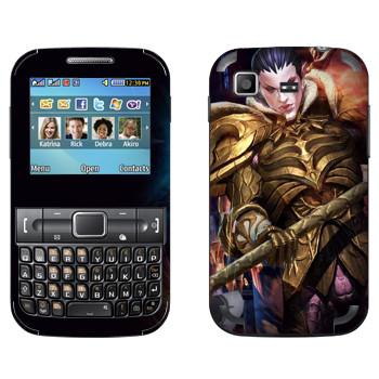 Виниловая наклейка «Tera Elf man» на телефон Samsung C3222 Duos