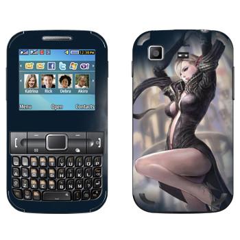 Виниловая наклейка «Tera Elf» на телефон Samsung C3222 Duos