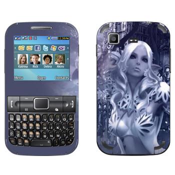 Виниловая наклейка «Тера Кастаник» на телефон Samsung C3222 Duos