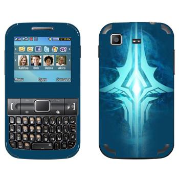 Виниловая наклейка «Tera logo» на телефон Samsung C3222 Duos