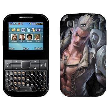 Виниловая наклейка «Tera mаn» на телефон Samsung C3222 Duos