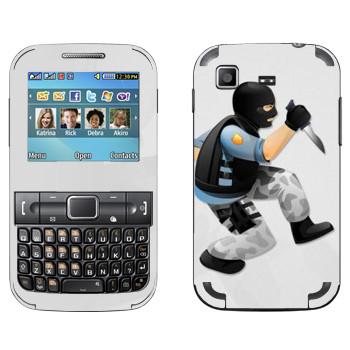 Виниловая наклейка «Тerrorist - Counter Strike» на телефон Samsung C3222 Duos