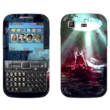 Виниловая наклейка «The Evil Within  - Кровавое месиво» на телефон Samsung C3222 Duos