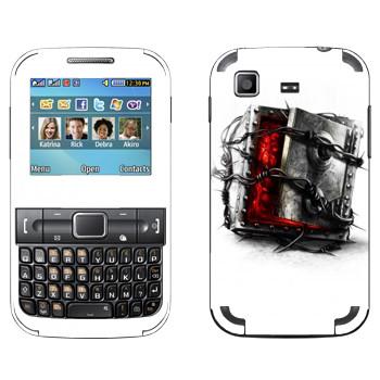 Виниловая наклейка «The Evil Within - Сейф» на телефон Samsung C3222 Duos