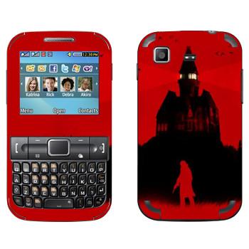 Виниловая наклейка «The Evil Within - Темный дом» на телефон Samsung C3222 Duos