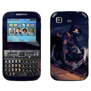 Виниловая наклейка «Thief - Девушка» на телефон Samsung C3222 Duos