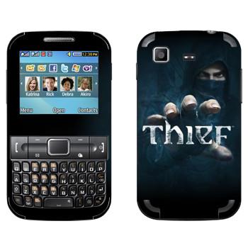 Виниловая наклейка «Thief - Игра» на телефон Samsung C3222 Duos