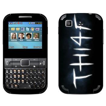 Виниловая наклейка «Thief - Лого» на телефон Samsung C3222 Duos