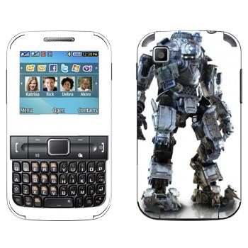 Виниловая наклейка «Titanfall боевой робот» на телефон Samsung C3222 Duos