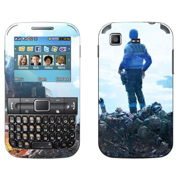 Виниловая наклейка «Titanfall гора трупов» на телефон Samsung C3222 Duos