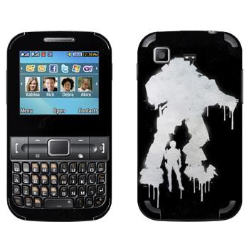 Виниловая наклейка «Titanfall граффити» на телефон Samsung C3222 Duos
