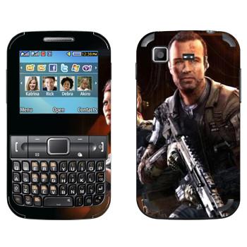 Виниловая наклейка «Titanfall солдаты» на телефон Samsung C3222 Duos