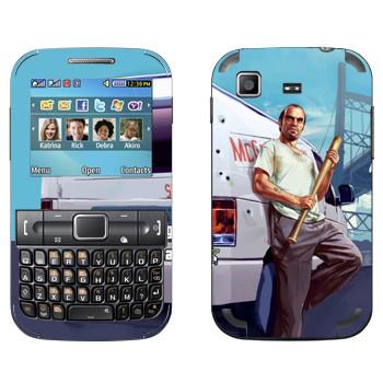 Виниловая наклейка «Тревор - GTA5» на телефон Samsung C3222 Duos