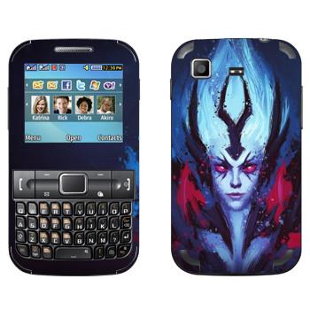 Виниловая наклейка «Vengeful Spirit - Dota 2» на телефон Samsung C3222 Duos
