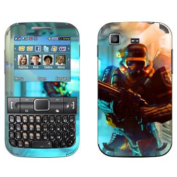 Виниловая наклейка «Wolfenstein - Capture» на телефон Samsung C3222 Duos
