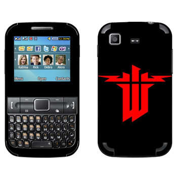 Виниловая наклейка «Wolfenstein» на телефон Samsung C3222 Duos